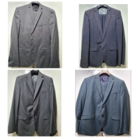 Used 4 branded men suits for price of1 size54 in Dubai, UAE