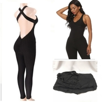 Used Ladies Workout Jumpsuits (Size XL) New in Dubai, UAE