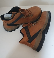 Used Mens Safety Leather Boots Size 37 NEW in Dubai, UAE