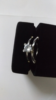 Used Very beautiful silver plated stone ring in Dubai, UAE