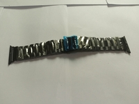 Used Stainless steel watch band for apple wat in Dubai, UAE
