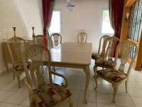 Used USA made dining table with chairs in Dubai, UAE