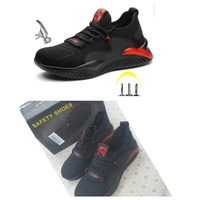 Used Mens steel toe protective safety shoes in Dubai, UAE