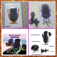 Used Car phone auto clamping wireless charger in Dubai, UAE