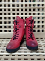 Used Exull boots red size 28 in Dubai, UAE