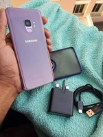 Used Galaxy S9 with original charger & cover in Dubai, UAE