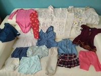 Used Bundle of clothes for 1-2 yrs old girl in Dubai, UAE