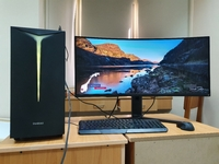 """Used Gaming PC + 34"""" Curved Gaming Monitor in Dubai, UAE"""