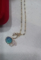 Used Thermochromic swan necklace New in Dubai, UAE