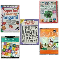 Used 5 Arts and crafts and activity Books in Dubai, UAE