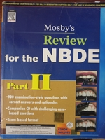 Used Mosby review for NBDE PART 2 in Dubai, UAE