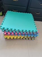 Used 16 Square Safety mats Kids Playing Area in Dubai, UAE