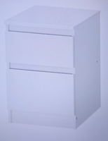 Used Cabinet With 2 Drawers White in Dubai, UAE