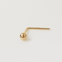 Used 14K Solid Gold 2mm Ball Nose Stud in Dubai, UAE