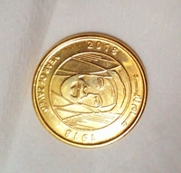 Used Year of zayed 24k gold pleated coin in Dubai, UAE