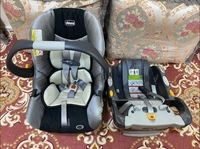 Used Chicco infant car seat with base in Dubai, UAE