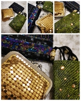 Used 3 embellished pouches/purses RESERVED in Dubai, UAE