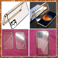 Used Double-Sided Buckle Magnetic Clear Case in Dubai, UAE