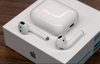 Used APPLE AIRPODS GEN2✔️NEW WITH FREE CASE🎮 in Dubai, UAE