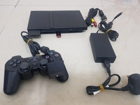 Used PS2 Slim with one controller + 20 game in Dubai, UAE