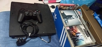 Used Ps3 console with 25 game cd &accessories in Dubai, UAE