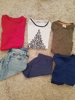 Used 12 Gap, Mothercare clothes for 6-7 old in Dubai, UAE