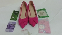 Used Brand New Pink Woman Shoes Size 35 in Dubai, UAE