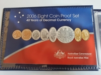 Used 2006 Eight Coin Proof Set 40 Years of De in Dubai, UAE