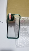 Used Double  sided  Buckle  iPhone  case gree in Dubai, UAE