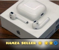 Used APPLE WHITE COLOR AIRPOD 2 WIRELESS ONLY in Dubai, UAE