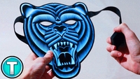 Used Tiger mask musical sound with battery in Dubai, UAE