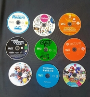Used Nintendo Wii games only CD 9 pcs in Dubai, UAE