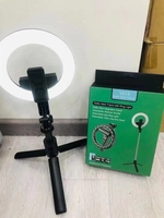 Used Selfie stick with ring light for Mobile in Dubai, UAE