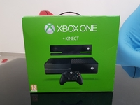 Used Xbox One with kinect + one controller in Dubai, UAE