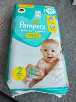 Used Pamper size2 unopened 2 pack of 64pcs. in Dubai, UAE