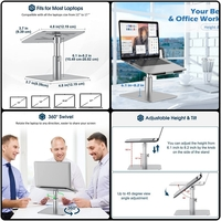 Used Liftable laptop stand gray in Dubai, UAE