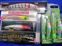 Used Fishing lures with lures box in Dubai, UAE