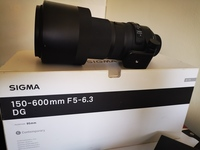 Used Sigma 150-600mm Contemporary Lense in Dubai, UAE