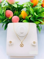 Used 18k Italy Gold Branded Sets Necklace and in Dubai, UAE