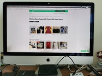 Used iMac 2013 i7 1TB SSD 24 GB RAM in Dubai, UAE