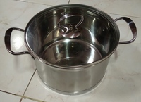 Used Stainless steel cookware set3pcs in Dubai, UAE