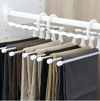 Used magic five- in -one magic pants rack in Dubai, UAE