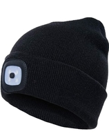 Used USB Rechargeable LED Knit Beanie Cap in Dubai, UAE