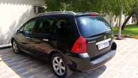 Used Peugeot  307 sw black 2007 model in Dubai, UAE