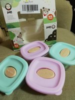 Used New jiayi 4 pcs pack baby food container in Dubai, UAE