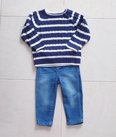 Used Jeans and sweater for boy 12-18M in Dubai, UAE