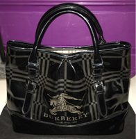 Used Authentic Used Burberry Bag in Dubai, UAE