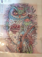 Used Diamond painting owl in Dubai, UAE