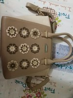 Used New never used beige bag in Dubai, UAE