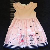 Used Lovely Baby Dress. Worn Only Once Like Brand New Condition. 9-12mths.  in Dubai, UAE